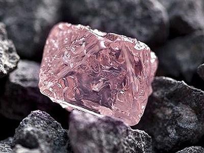 Pink Raw Uncut Diamond