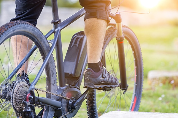 Off-road electric bike