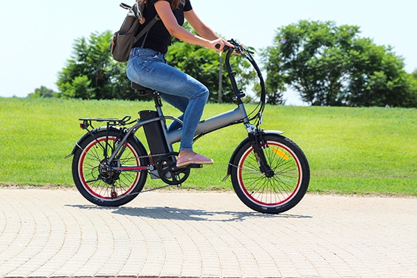 A small popular electric bike